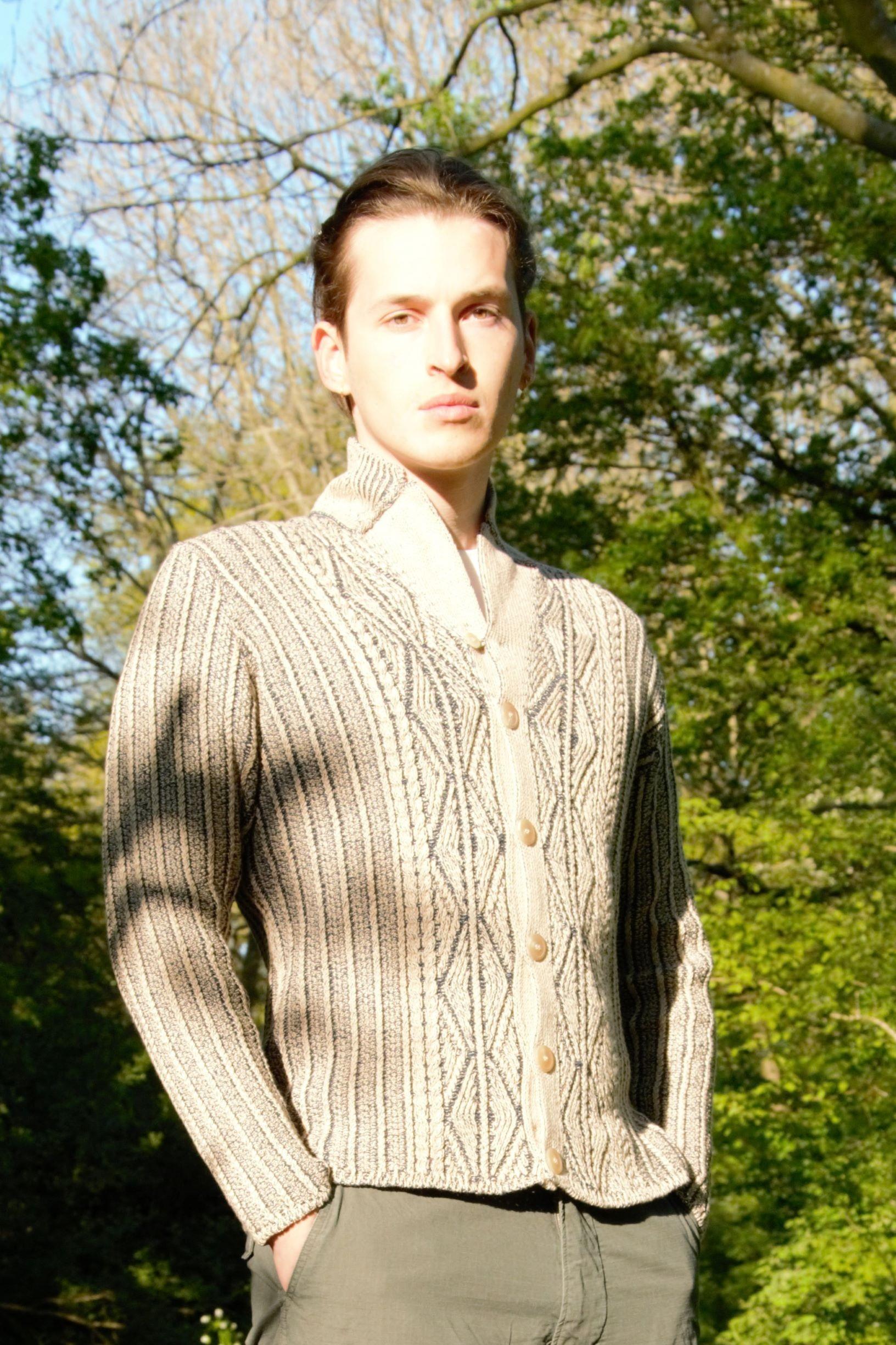 Foto van Inis Meáin Patented Aran Jacket