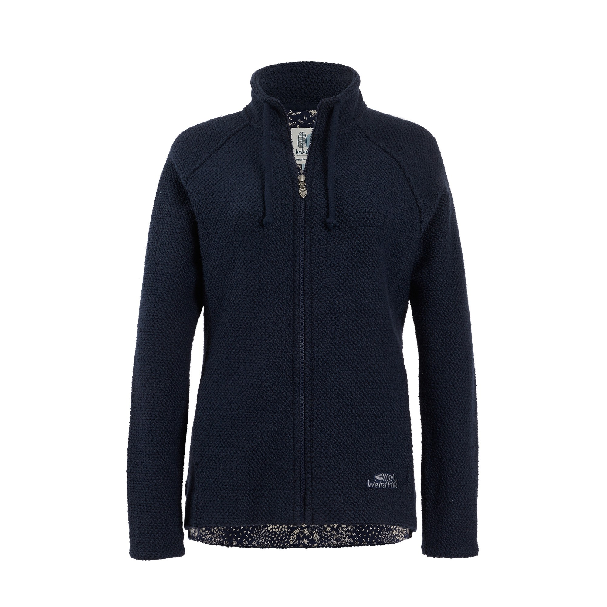 Foto van Weird Fish Holly Full Zip Classic Macaroni