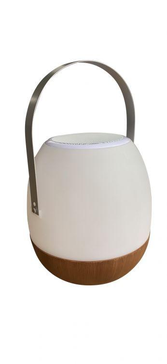 Foto van Cosy Pintac Wood Lamp