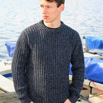 Fisherman out of Ireland Bogland blauw