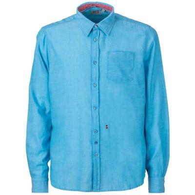 Foto van Slam Overhemd C26 blauw