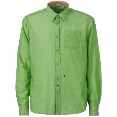 Foto van Slam Overhemd C26 groen