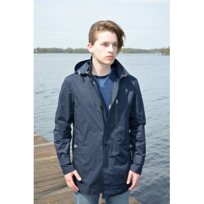 Camplin River Coat navy