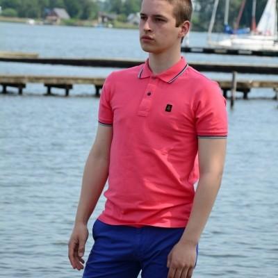Refrigiwear Polo Stech roze