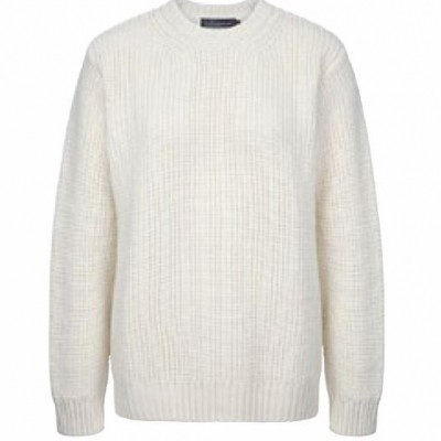 Irelandseye Crosshaven Ribbed Crew Neck trui