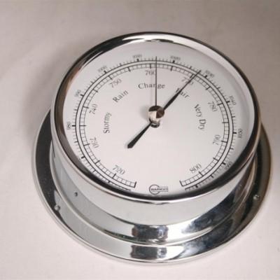 Foto van Barigo Regatta scheepsbarometer chroom