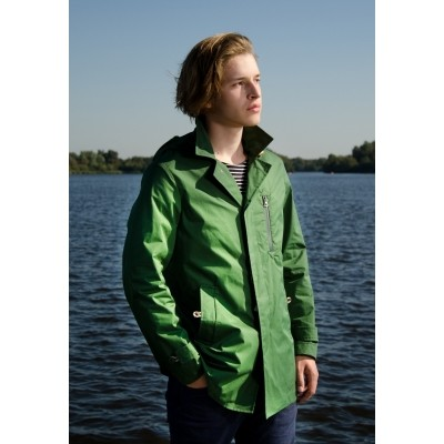 Foto van Camplin River Coat groen
