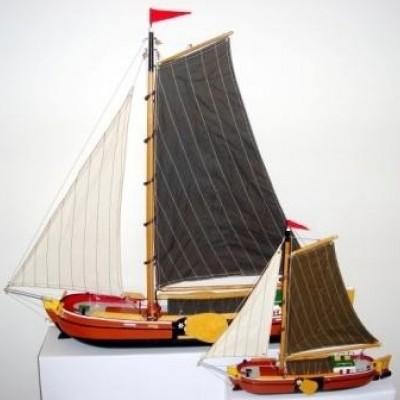 Foto van Modelboot Skutsje 74 cm