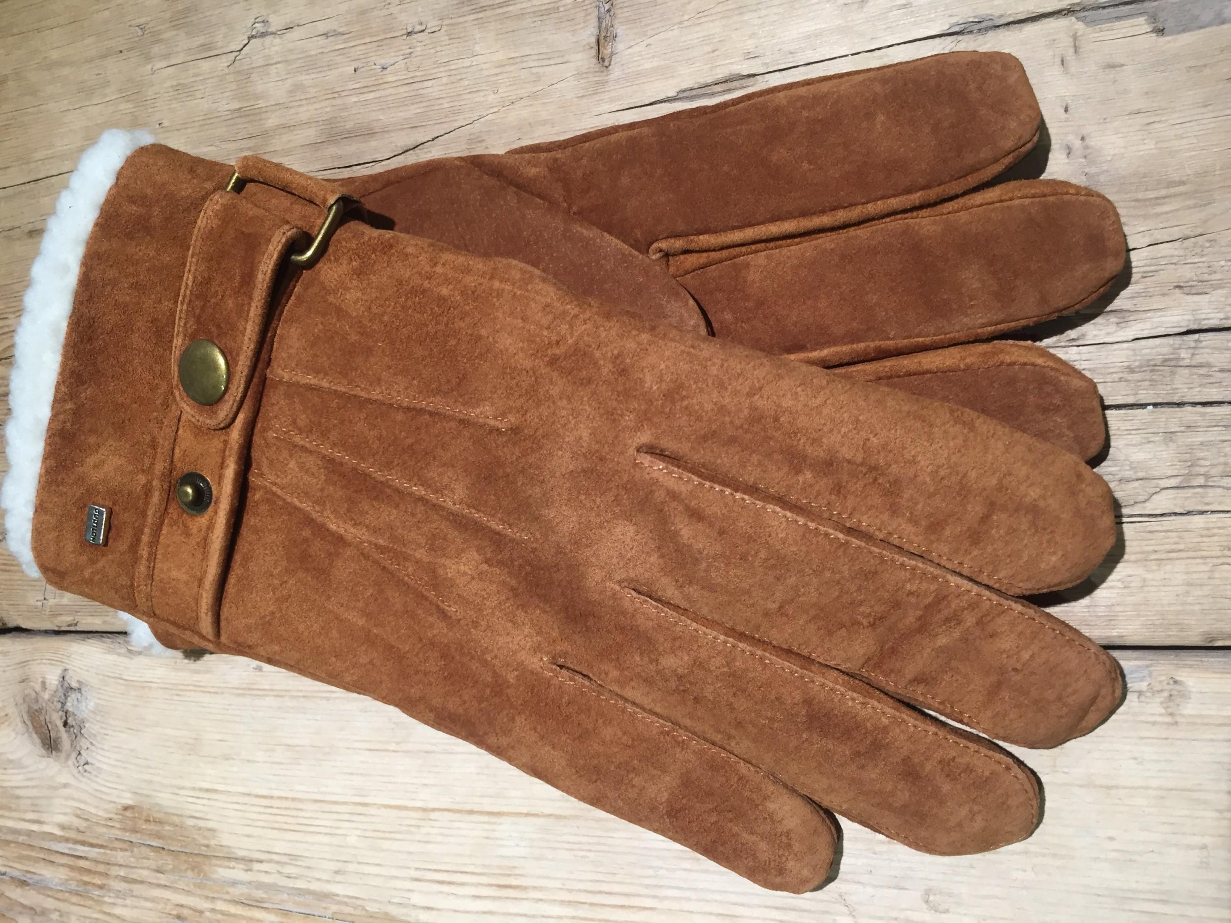Foto van Hatland Vjall Suede handschoen