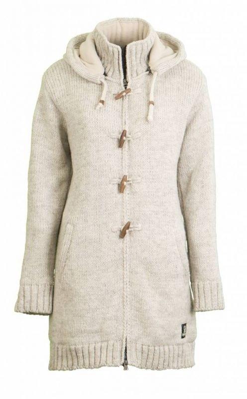 Foto van Shakaloha Knitwear Woodcord Jacket Beige