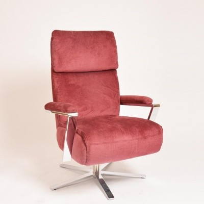 Relaxfauteuil Santiago Rood