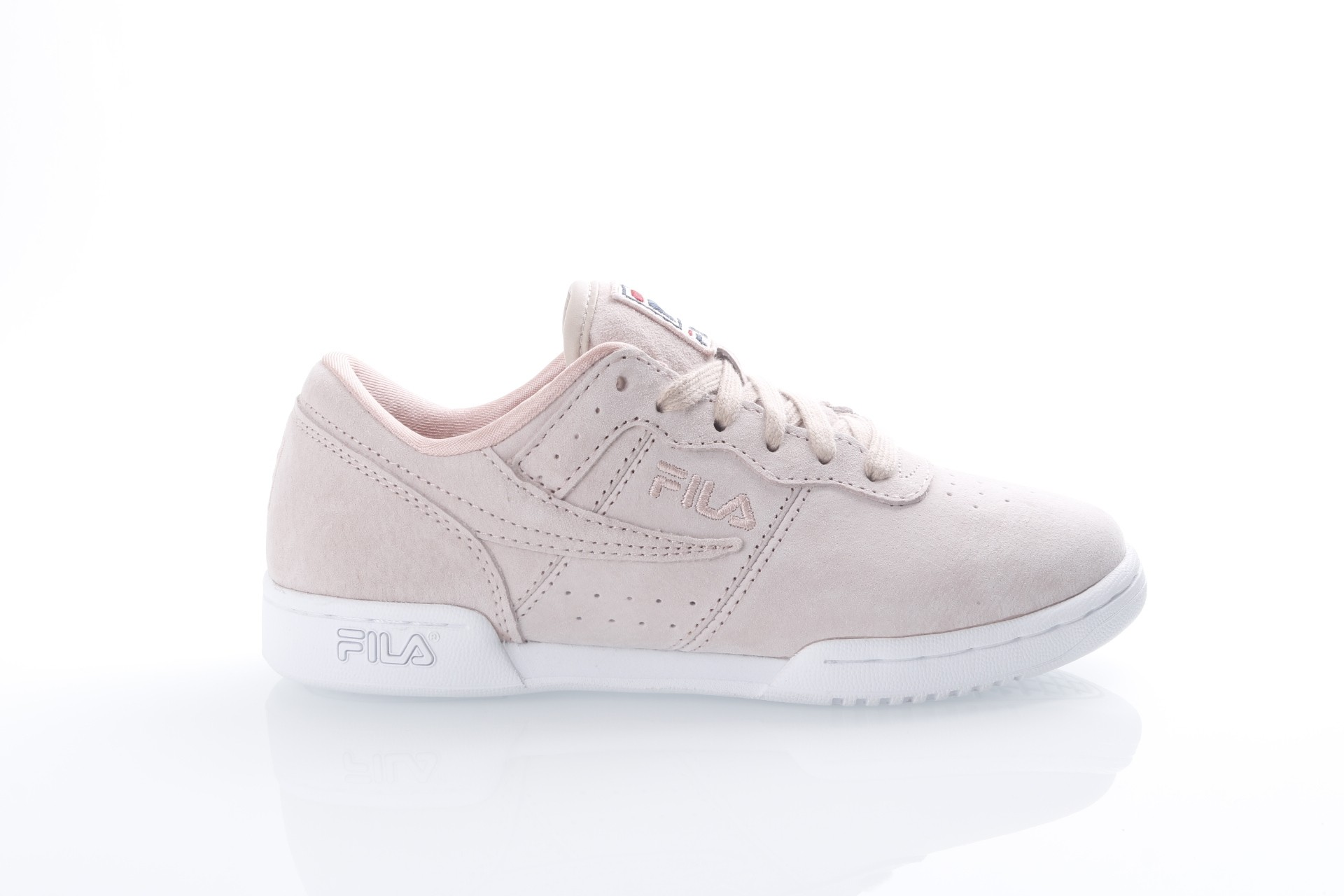 Foto van Fila Ladies 1010297-70P Sneakers Original fitness suede Roze