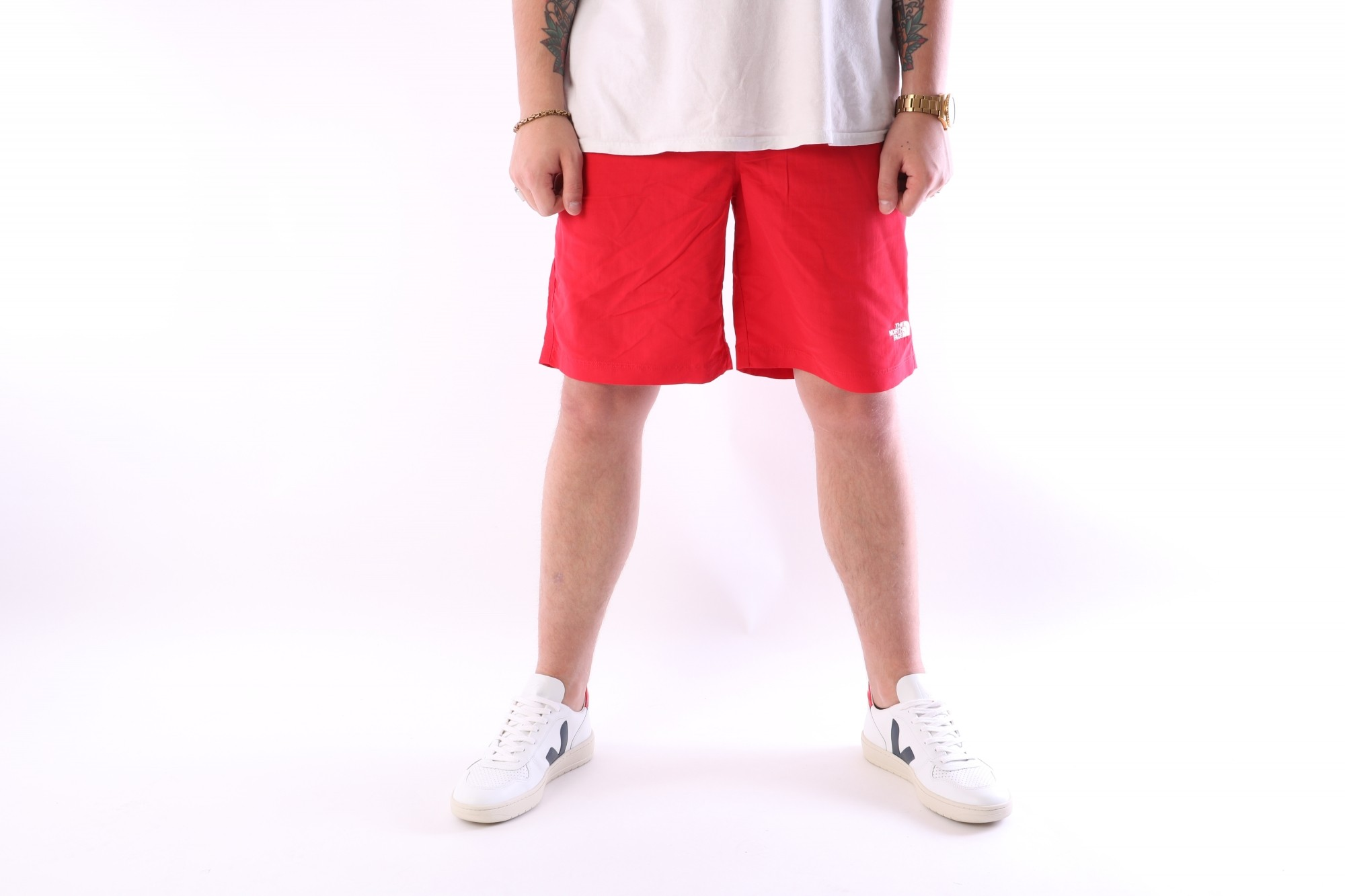 Foto van The North Face T0CMA1-4BA Short pant Class v rapids Rood