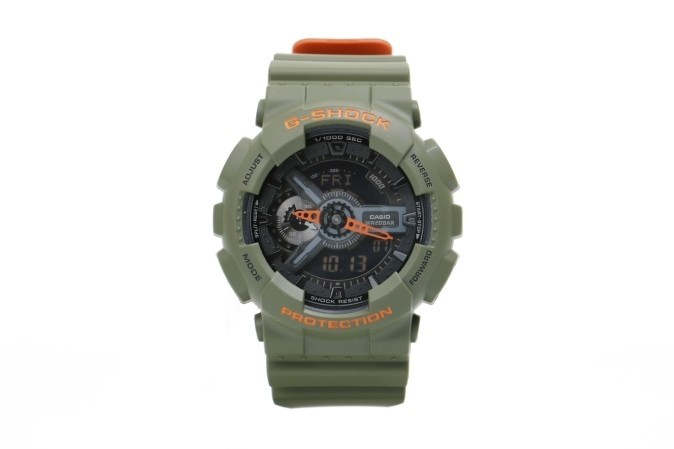 Foto van Casio G-Shock GA-110LN-3AER Watch GA-110LN Groen