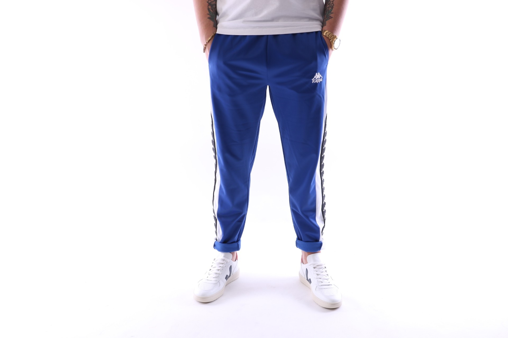 Foto van Kappa 303WHYO-905 Trackpant Athentic luis Blauw
