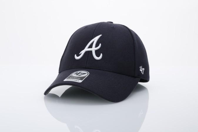 Afbeelding van 47 Brand B-MVP01WBV-RA Dad cap Mvp Atlanta Braves Blauw