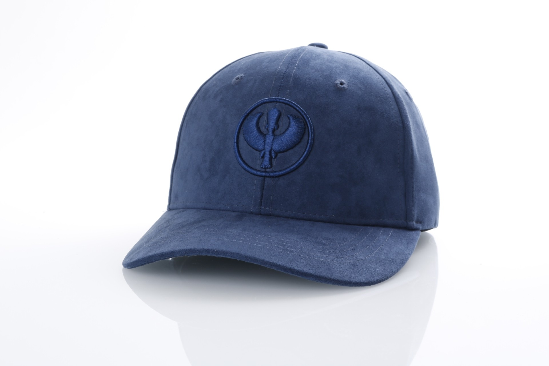 Foto van Pharaoh Official Dad cap Suede Blauw