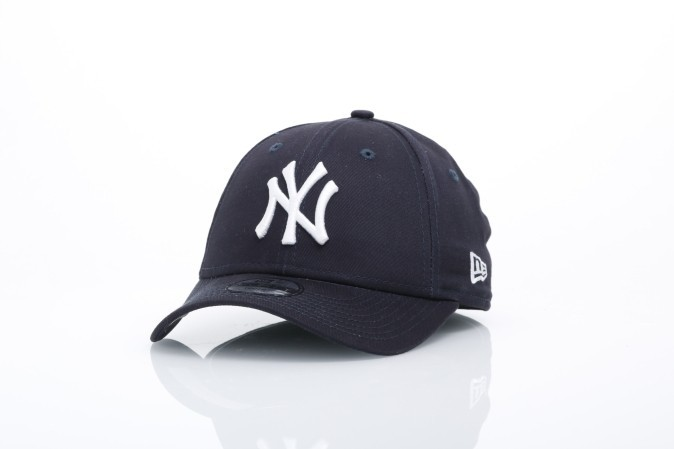 Afbeelding van New Era Kids 10877283 Dad cap 940 MLB league basic NY Yankees Blue