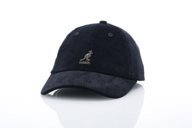 Foto van Kangol K5206HT Strapback cap Cord baseball Zwart