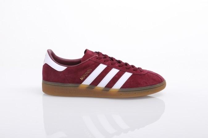 Afbeelding van Adidas Originals BB2776 Sneakers Munchen Rood