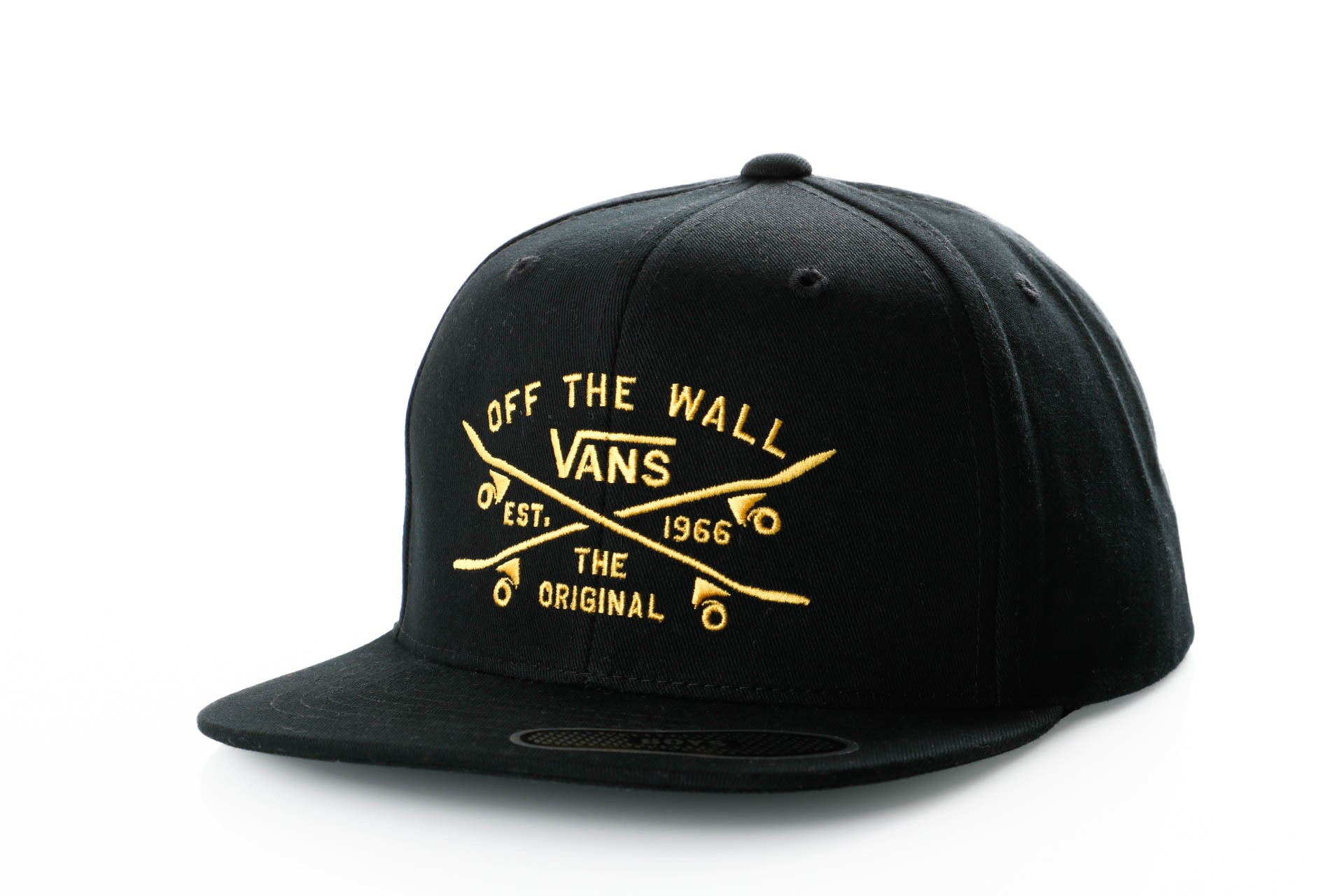 Foto van Vans SKATE LOCK UP SNAPBACK BOYS VN0A3I4KBLK Snapback cap BLACK