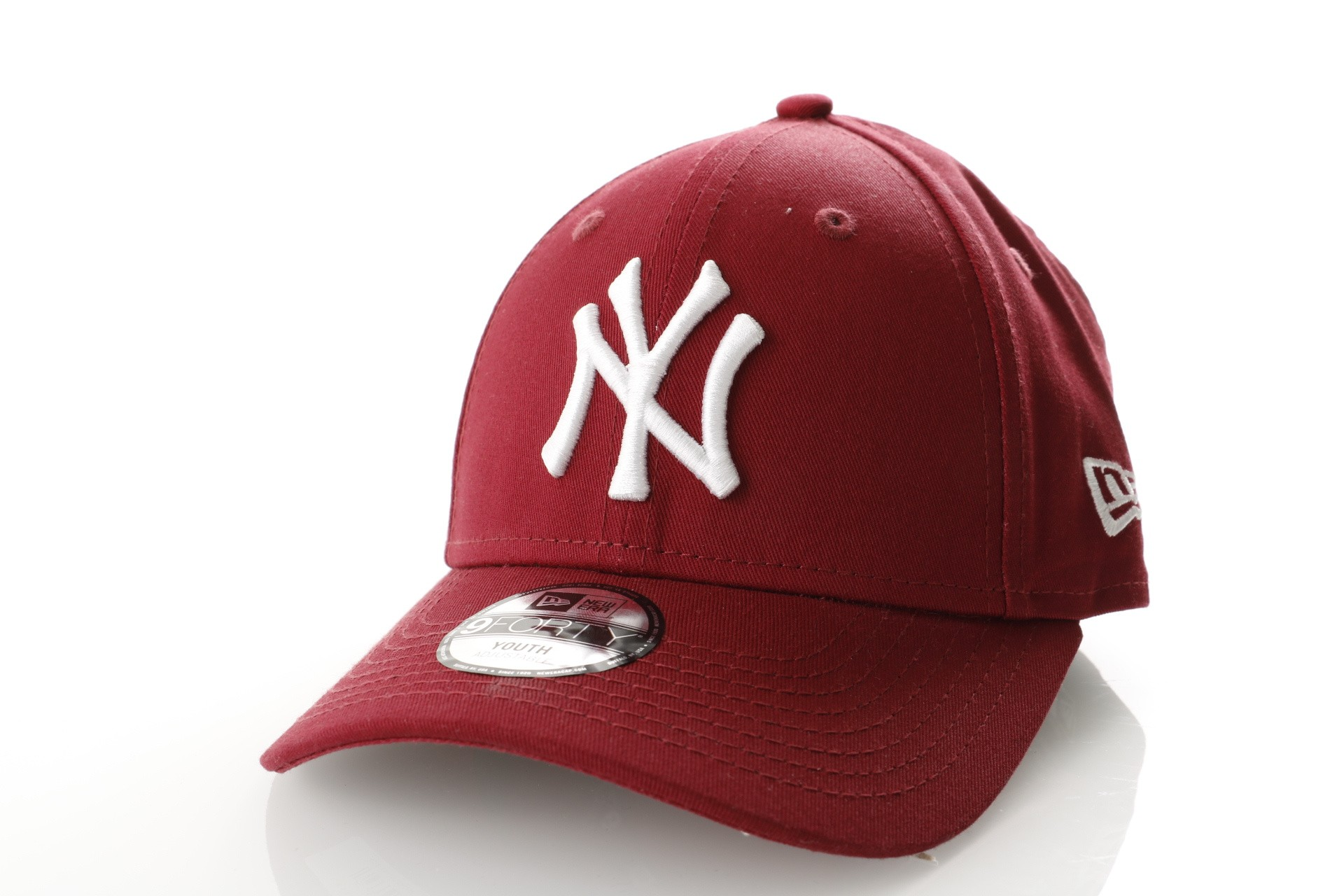 Foto van New Era LIGHT WEIGHT PACKABLE 9TWENTY NEW YORK YANKEES 11746791 dad cap CARDINAL/OPTIC WHITE MLB