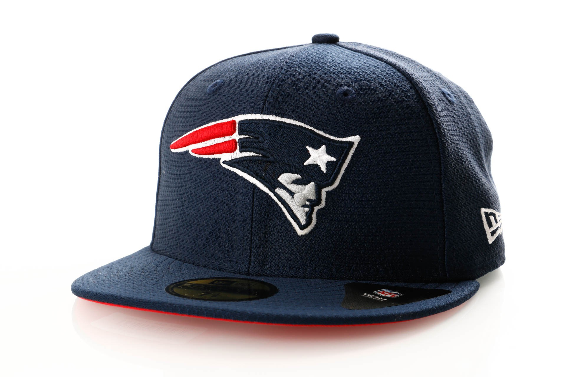 Foto van New Era Hex Era 11945703 Fitted Cap Team Colour New England Patriots