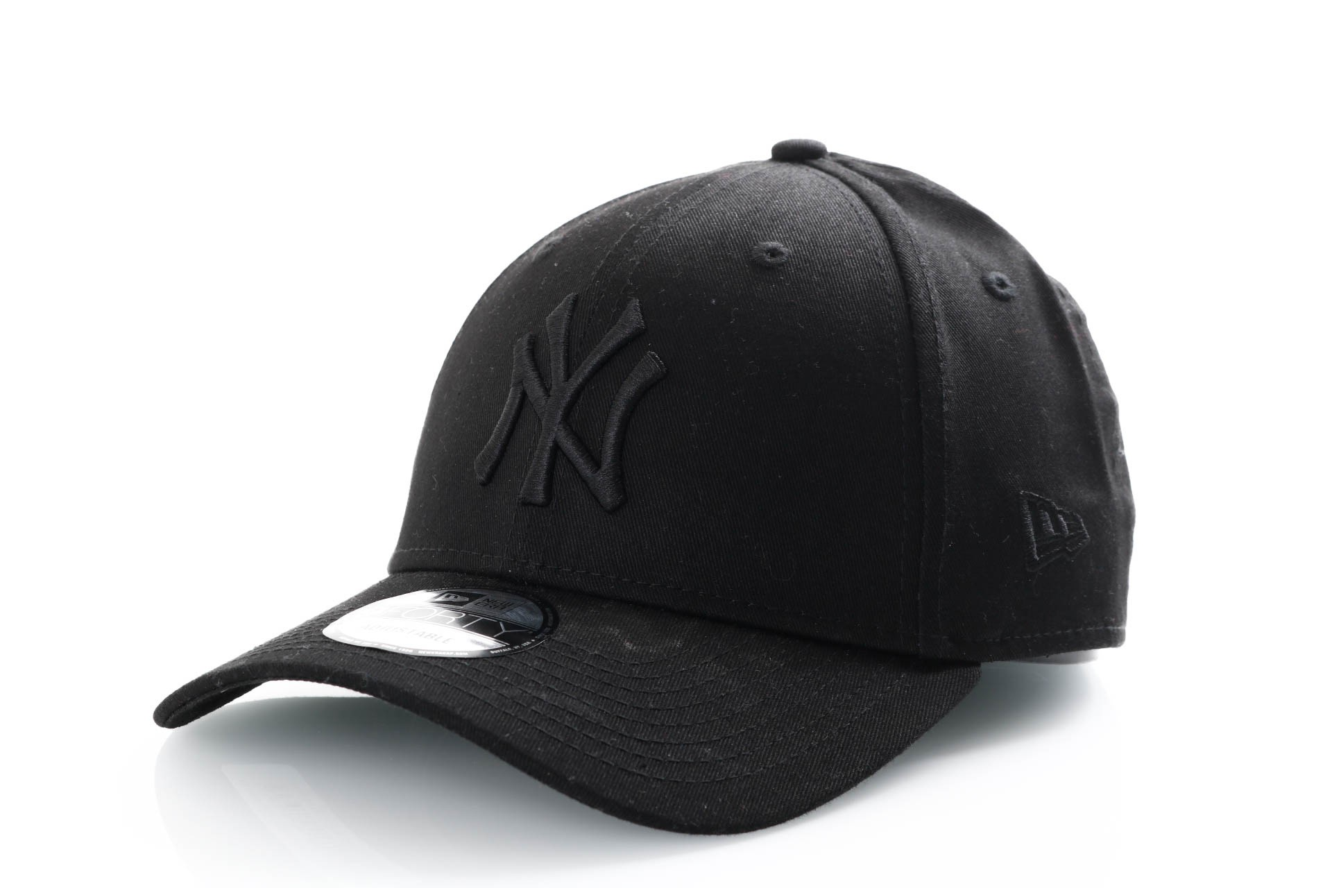 Foto van New Era 9Forty Snapback 11871671 Dad Cap Black/Black New York Yankees