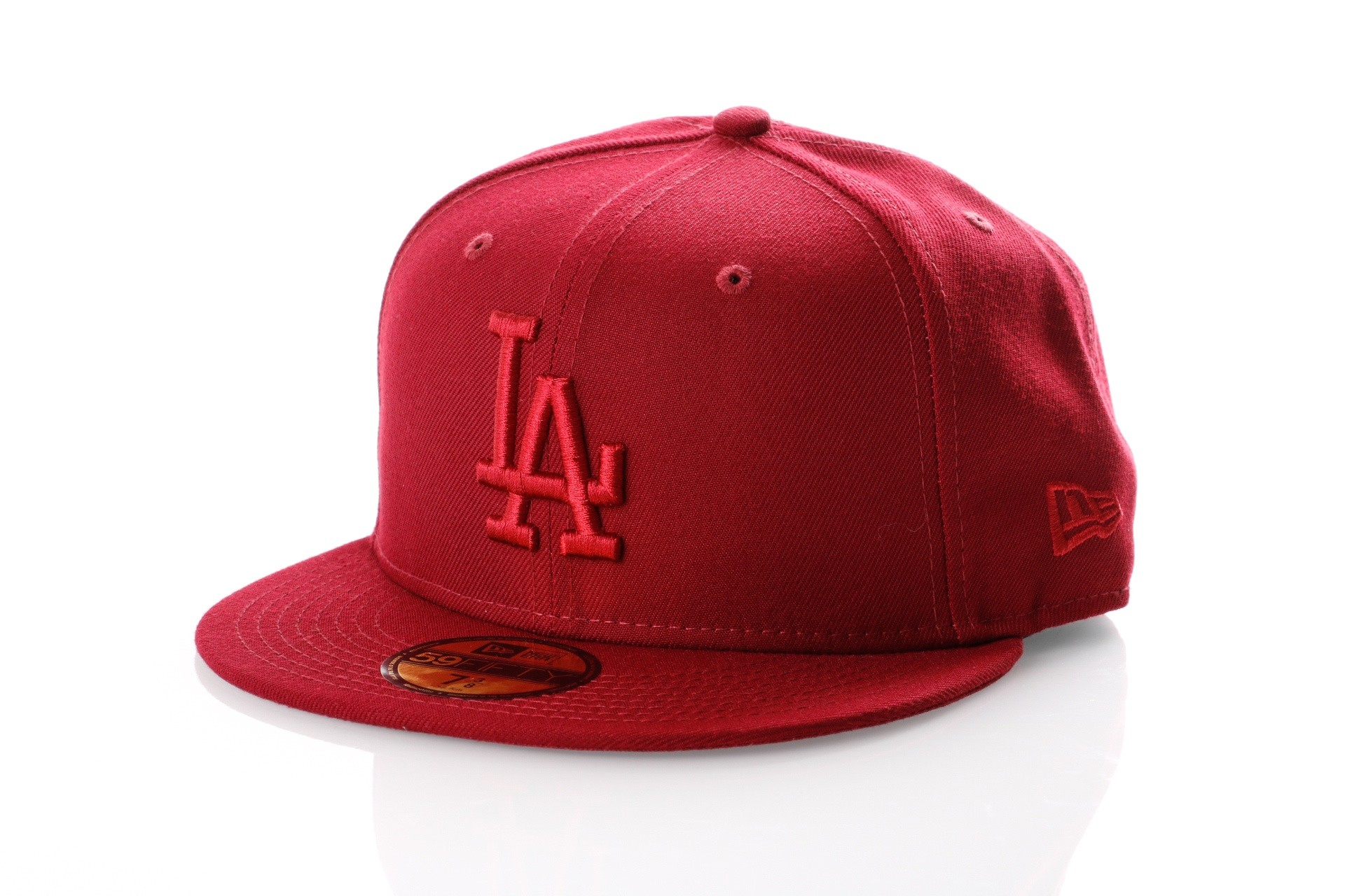 Foto van New Era LEAGUE ESSENTIAL 5950 LOS ANGELES DODGERS 11794693 Fitted Cap CARDINAL MLB