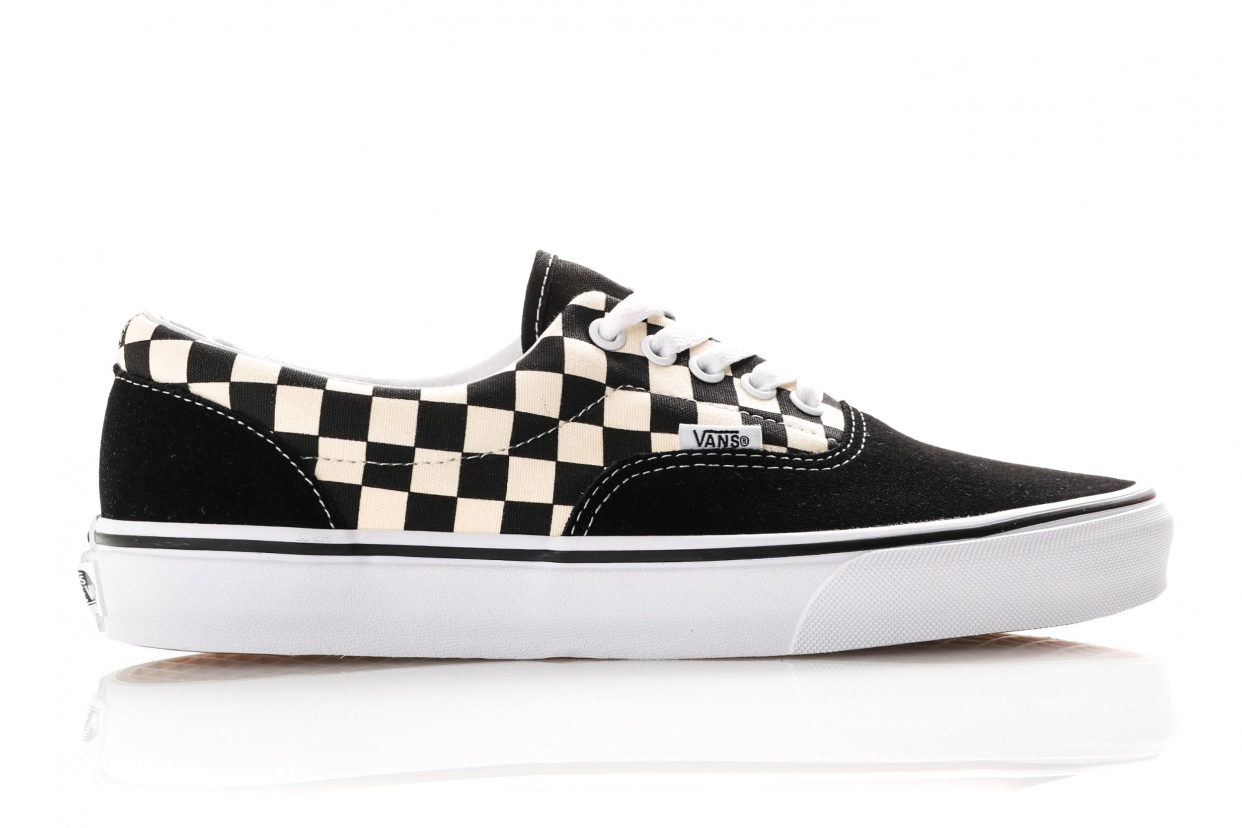 e6d051b906b Afbeelding van Vans Ua Era Vn0A38Frp0S Sneakers (Primary Check) Black/White