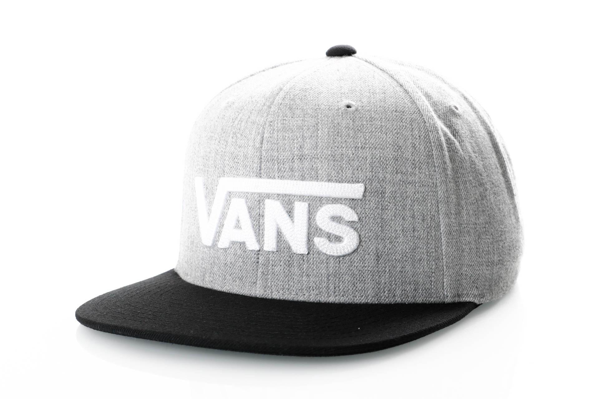 9cd92348941 Afbeelding van Vans DROP V II SNAPBACK VN0A36ORHGB Snapback cap HEATHER  GREY-BLACK