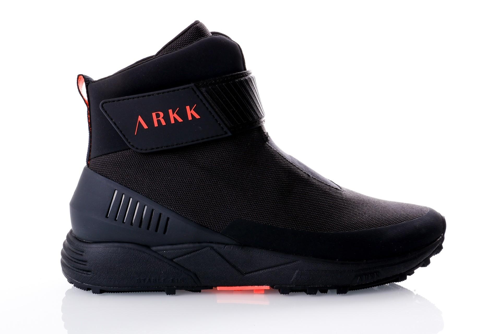 Foto van Arkk Chrontech Mesh HS W13 Black Neon Coral-M ML2600-9908-M Sneakers Black