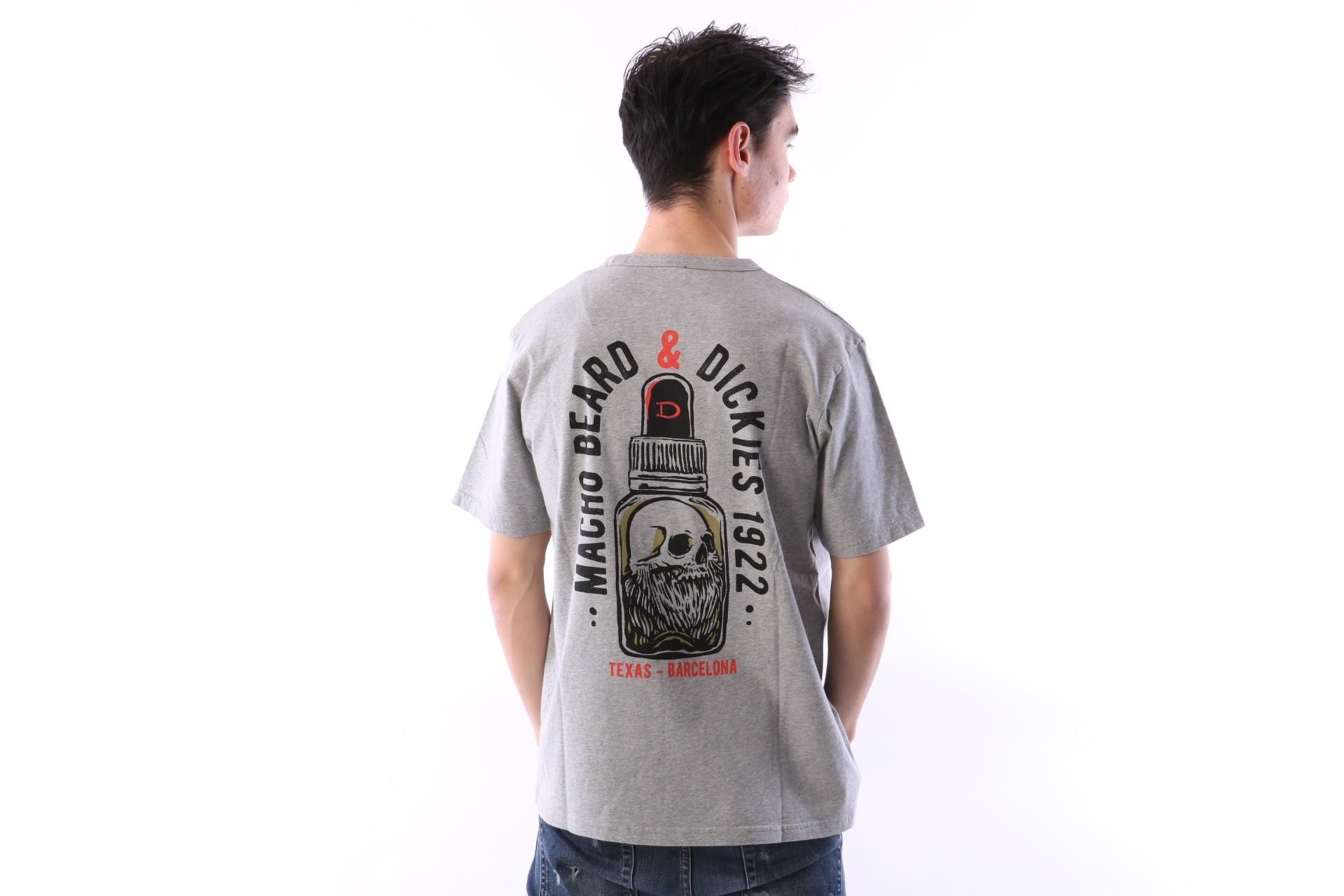 Foto van Dickies 06 210591-GYM T-shirt Roanoke Grey melange