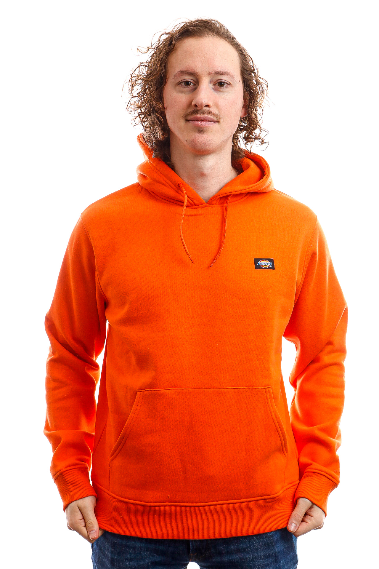 Foto van Dickies Hooded Oklahoma Hoody Bright Orange DK320186BGO1