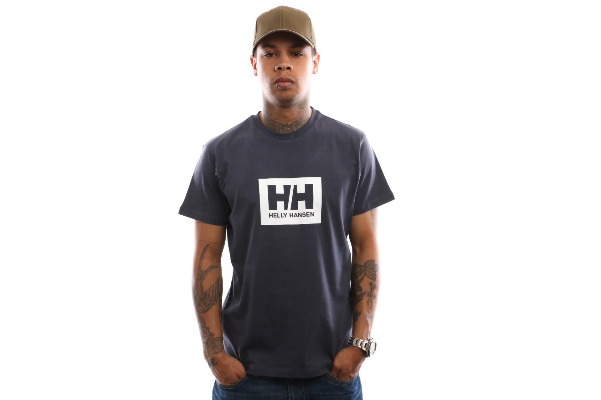 Foto van Helly Hansen Tokyo T-Shirt 53285 T Shirt Graphite Blue