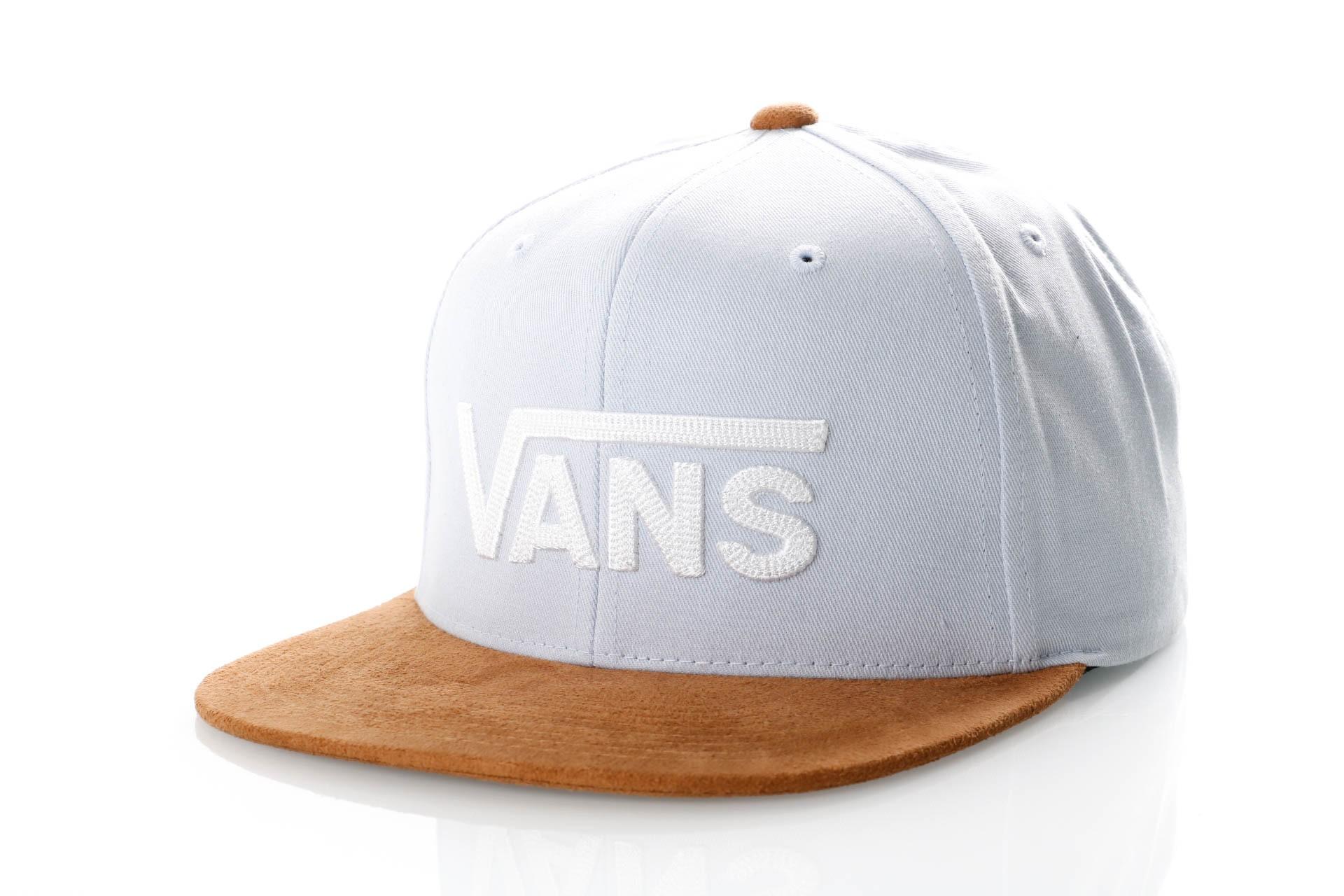 Foto van Vans DROP V II SNAPBACK VN0A36ORHTH Snapback cap HEATHER