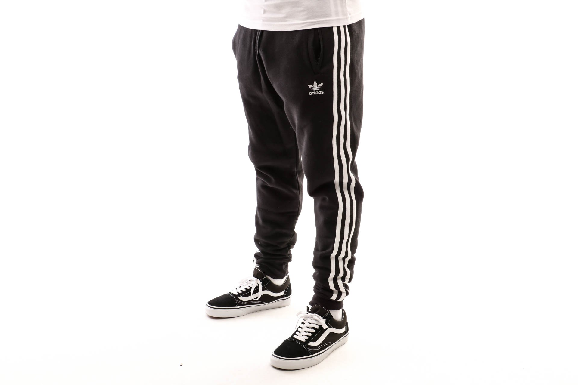 Foto van Adidas 3-Stripes Pant Dv1549 Trackpant Black