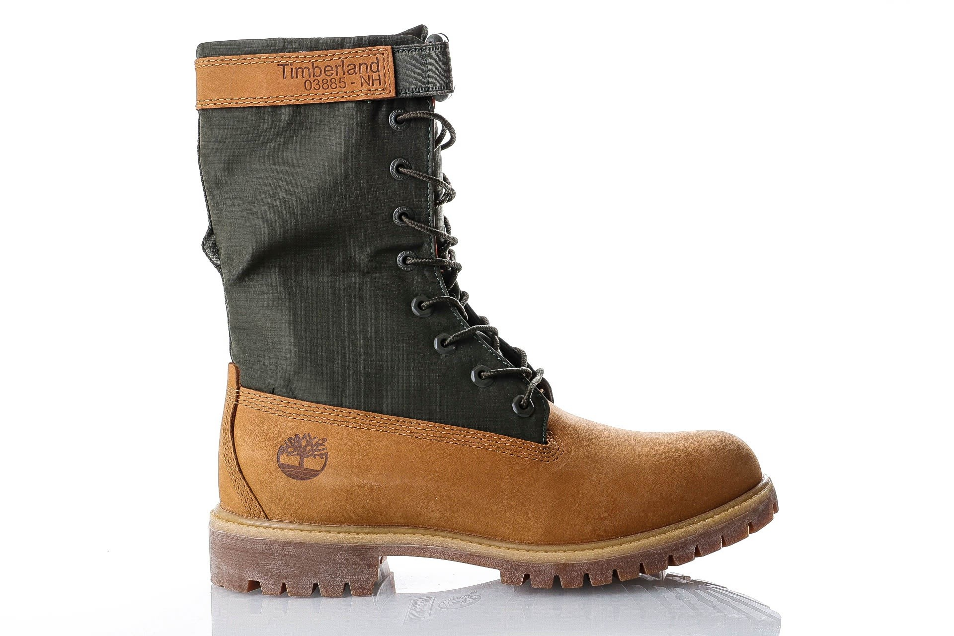 Foto van Timberland 6 In Premium Gaiter Boot TB0A1QY82311 Sneakers GAITER WHEAT