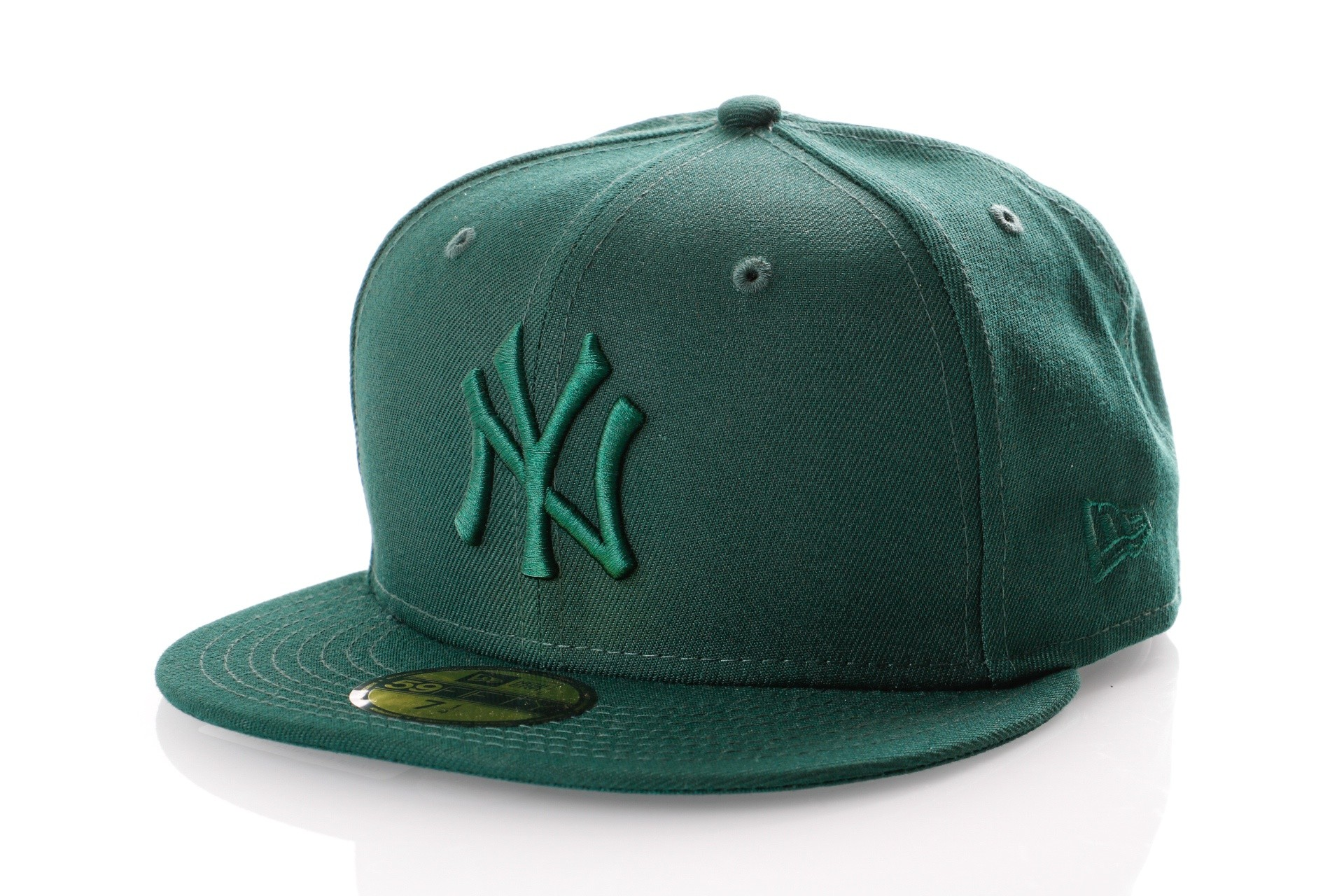 Foto van New Era LEAGUE ESSENTIAL 5950 NEW YORK YANKEES 11794692 Fitted Cap DARK GREEN MLB