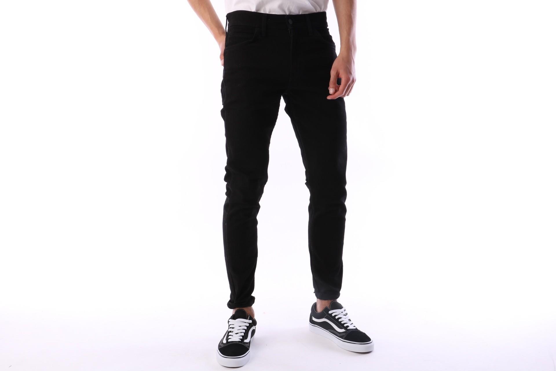 Foto van Levi's 29925-0002 Jeans Line 8 slim taper Zwart