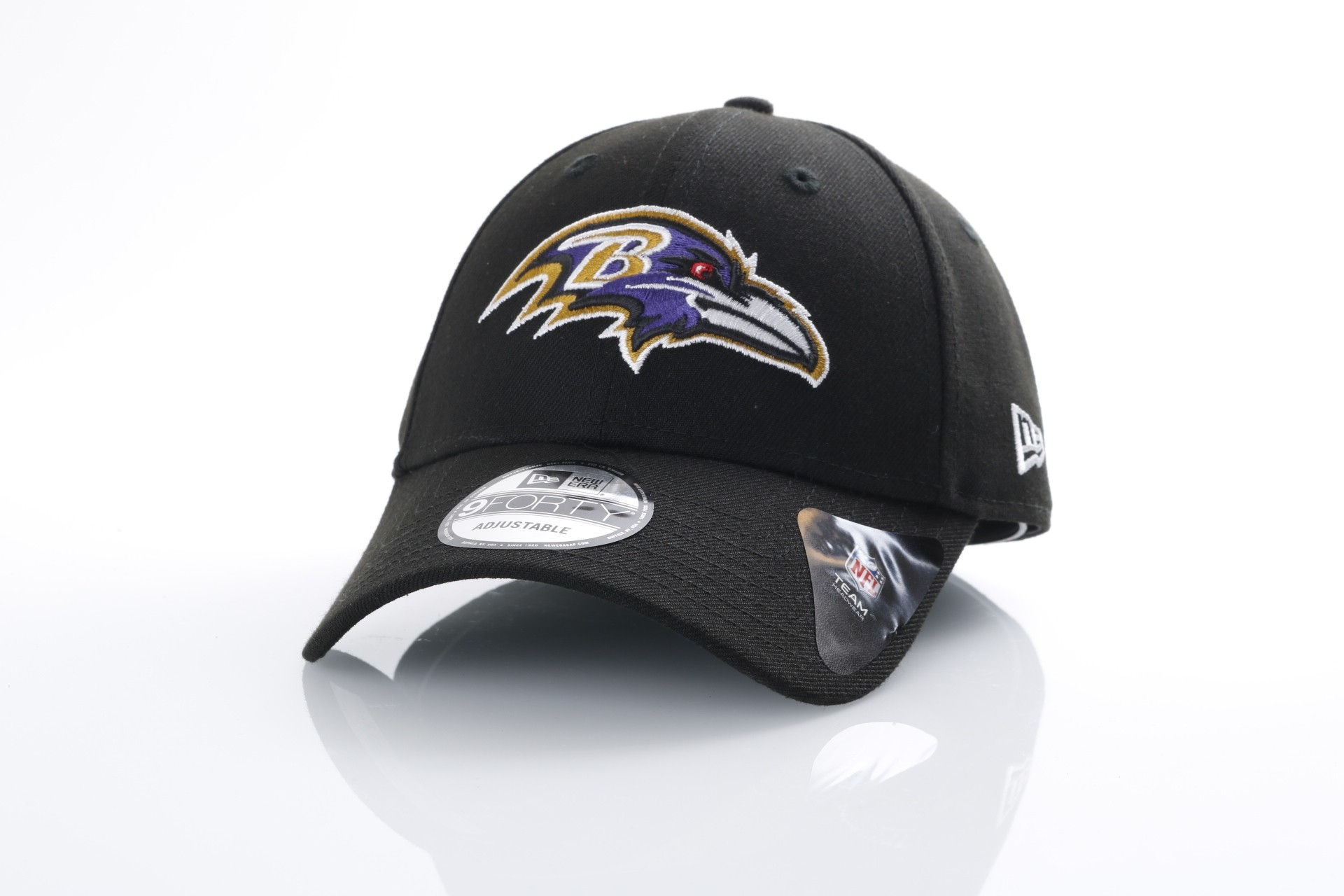Afbeelding van New Era 10517893 Dad cap NFL the league Baltimore Ravens Official team colors