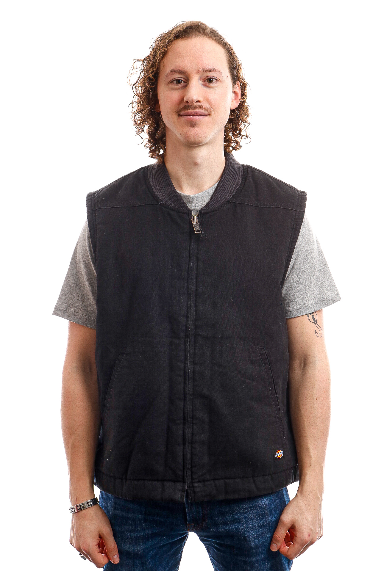 Foto van Dickies Vest Sherpa Lined Vest Black DK0A4X8UBLK1