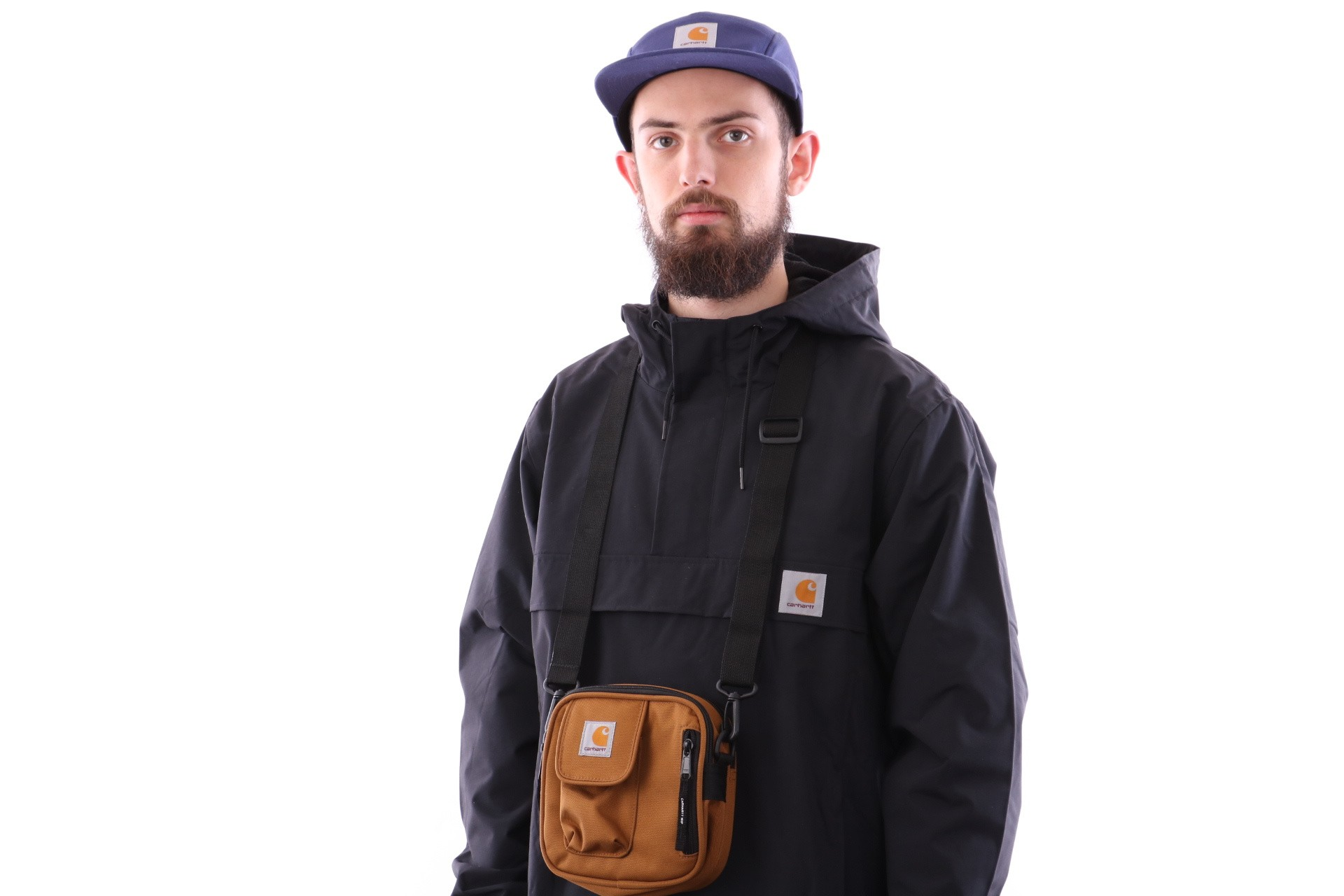 Foto van Carhartt WIP Essentials Bag, Small I006285 Schoudertas Hamilton Brown