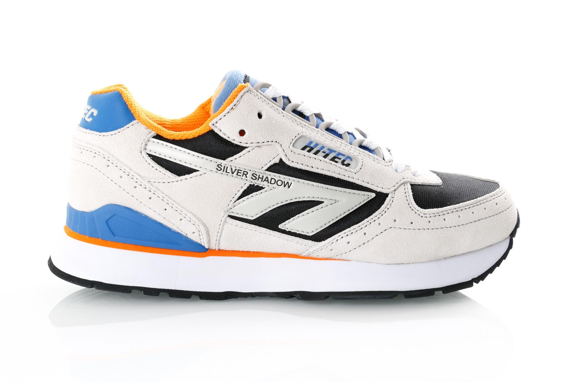 Foto van Hi-Tec Silver Shadow S010001/071 Sneakers Grey/ Black/Blue /Orange