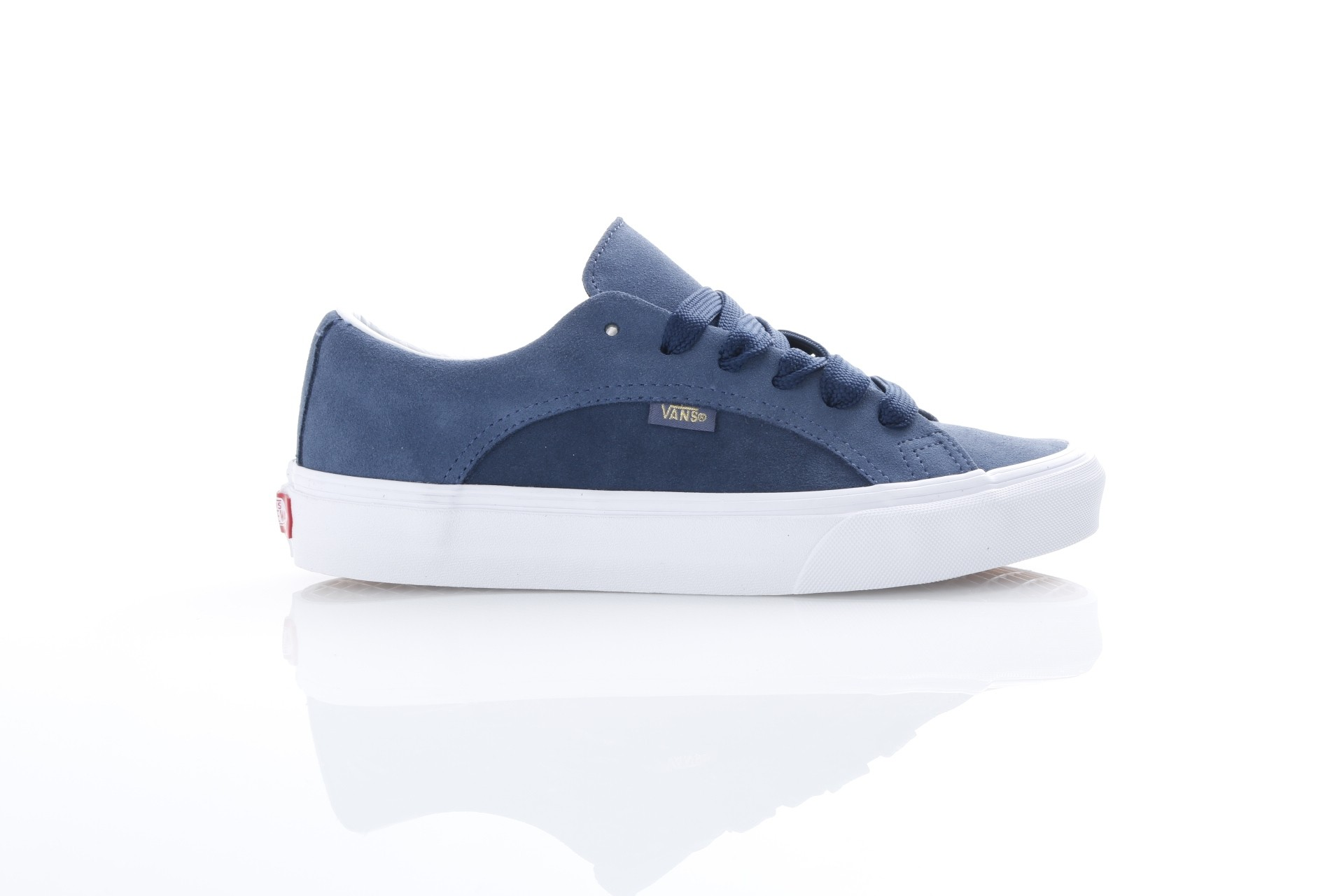 Foto van Vans Classics VA38FI-QLL Sneakers Lampin Blauw