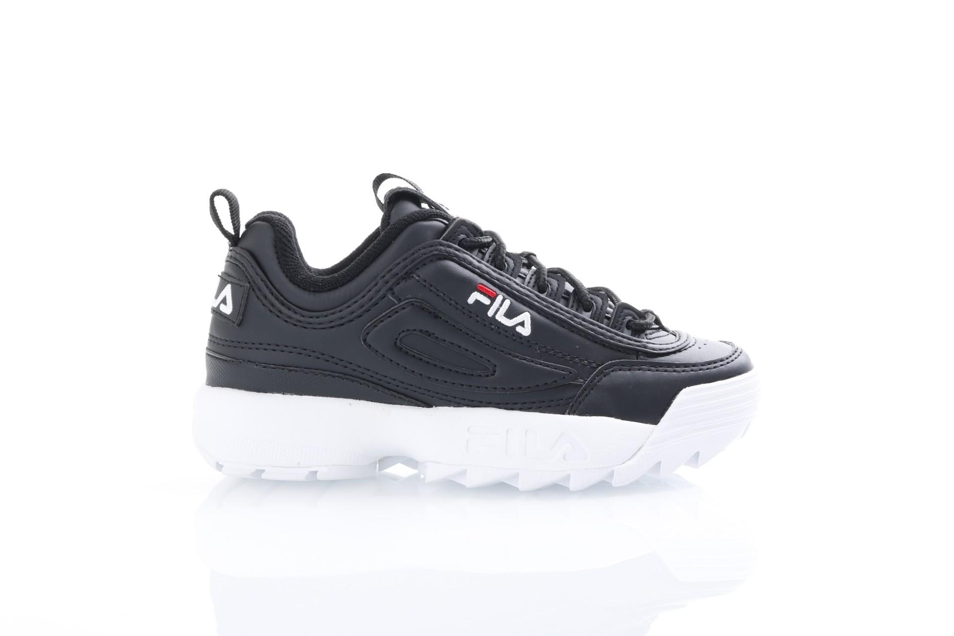 Foto van Fila Ladies 1010302-25Y Sneakers Disruptor low Zwart