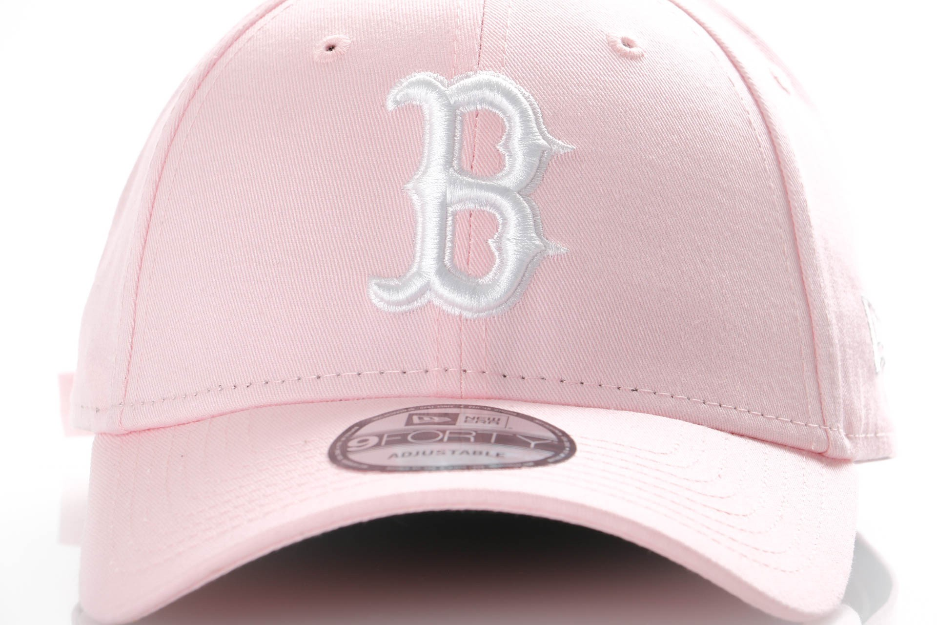 Afbeelding van New Era League Essential 9Forty 11871483 Dad Cap Pink/Optic White Boston Red Sox