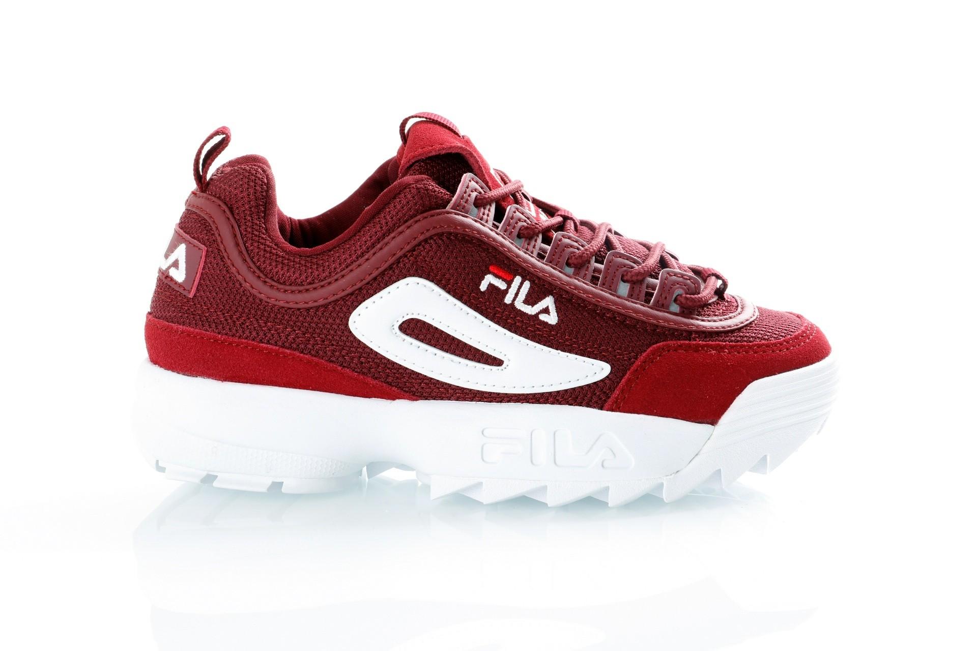 Foto van Fila Disruptor Mesh low wmn 1010438 Sneakers marsala