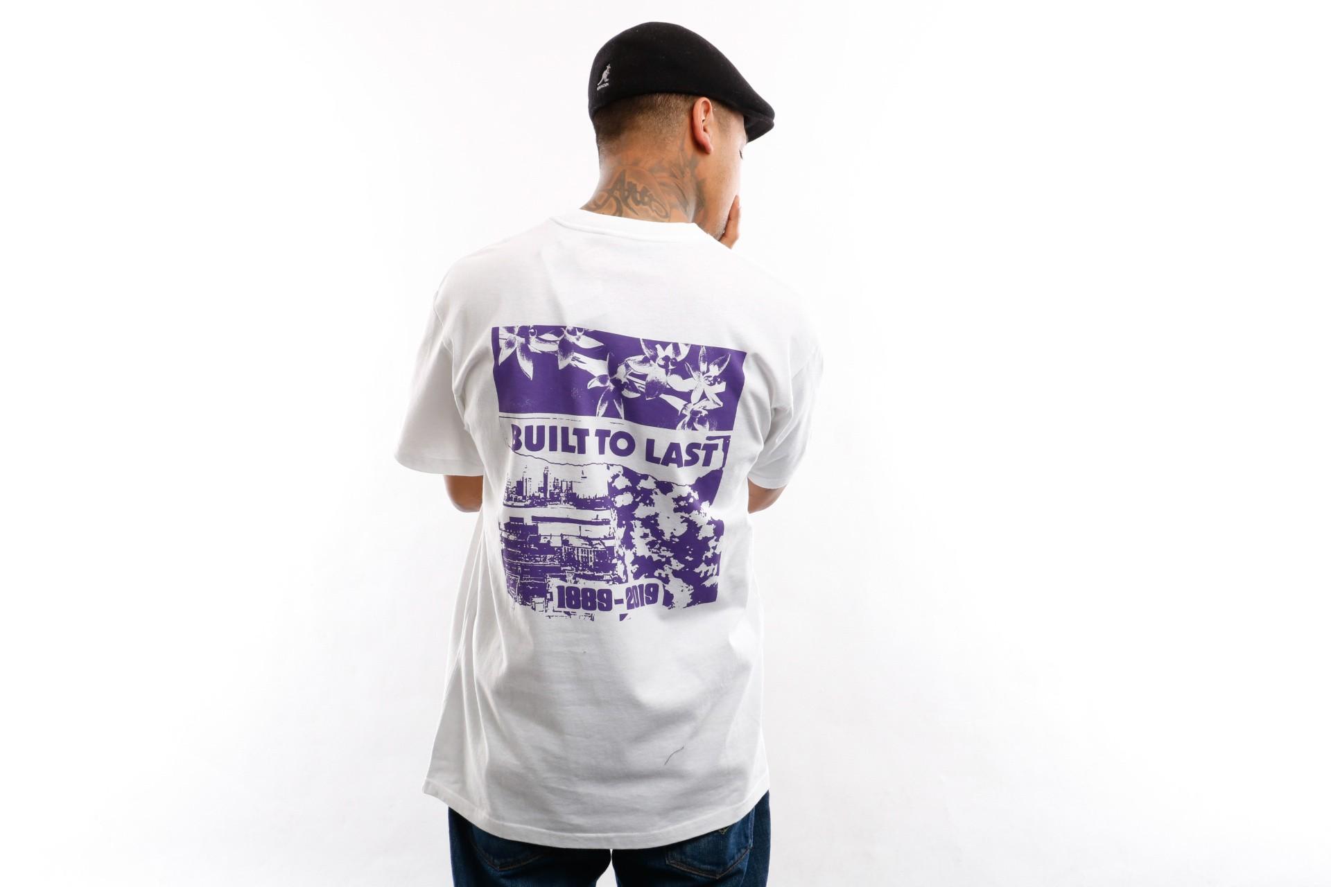 Foto van Carhartt WIP T shirt S/S Industry T-Shirt White / Royal Violet I027086