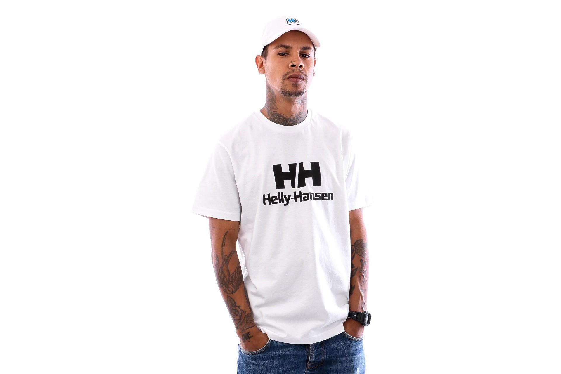 Foto van Helly Hansen HH Logo T-shirt 53165 T shirt white